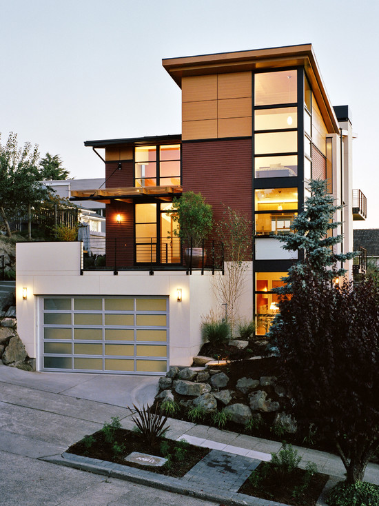 30 House Facade Design and Ideas - InspirationSeek.com on Modern Style Houses  id=88664