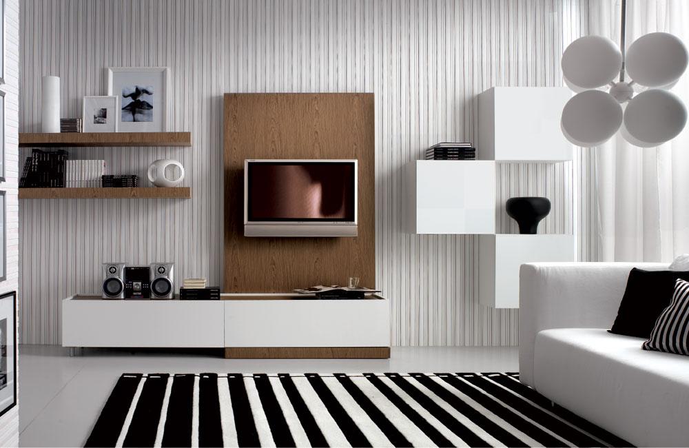 ... Horizontal Striped Wallpaper Living Room Centerfieldbar Com Part 32