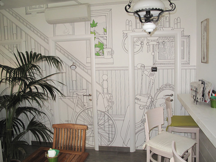 Wallcovering, the Wall Sweeteners - InspirationSeek.com on Creative Wall  id=56930