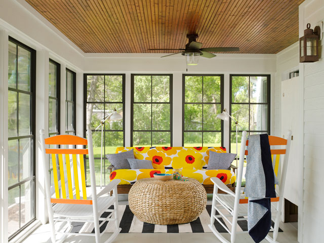 18+ Back Porch Designs and Ideas - InspirationSeek.com on Enclosed Back Deck Ideas id=81368