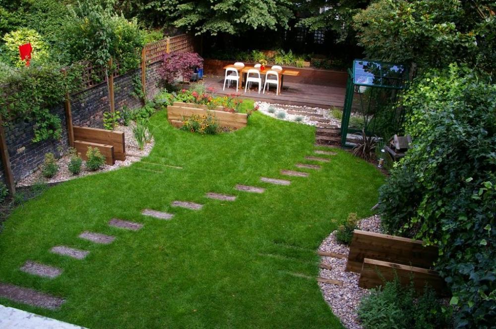 25+ Backyard Designs and Ideas - InspirationSeek.com on Small Outdoor Yard Ideas id=94166