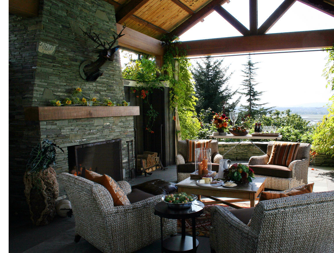 25+ Backyard Designs and Ideas - InspirationSeek.com on Covered Back Deck Designs id=27068