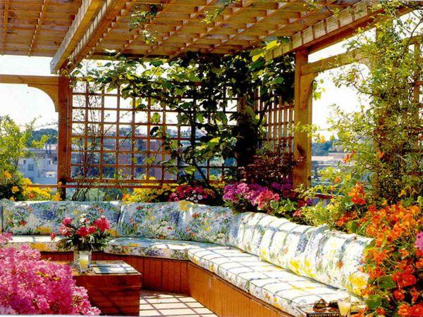 rooftop garden 27 Roof Garden Design Ideas - InspirationSeek.com