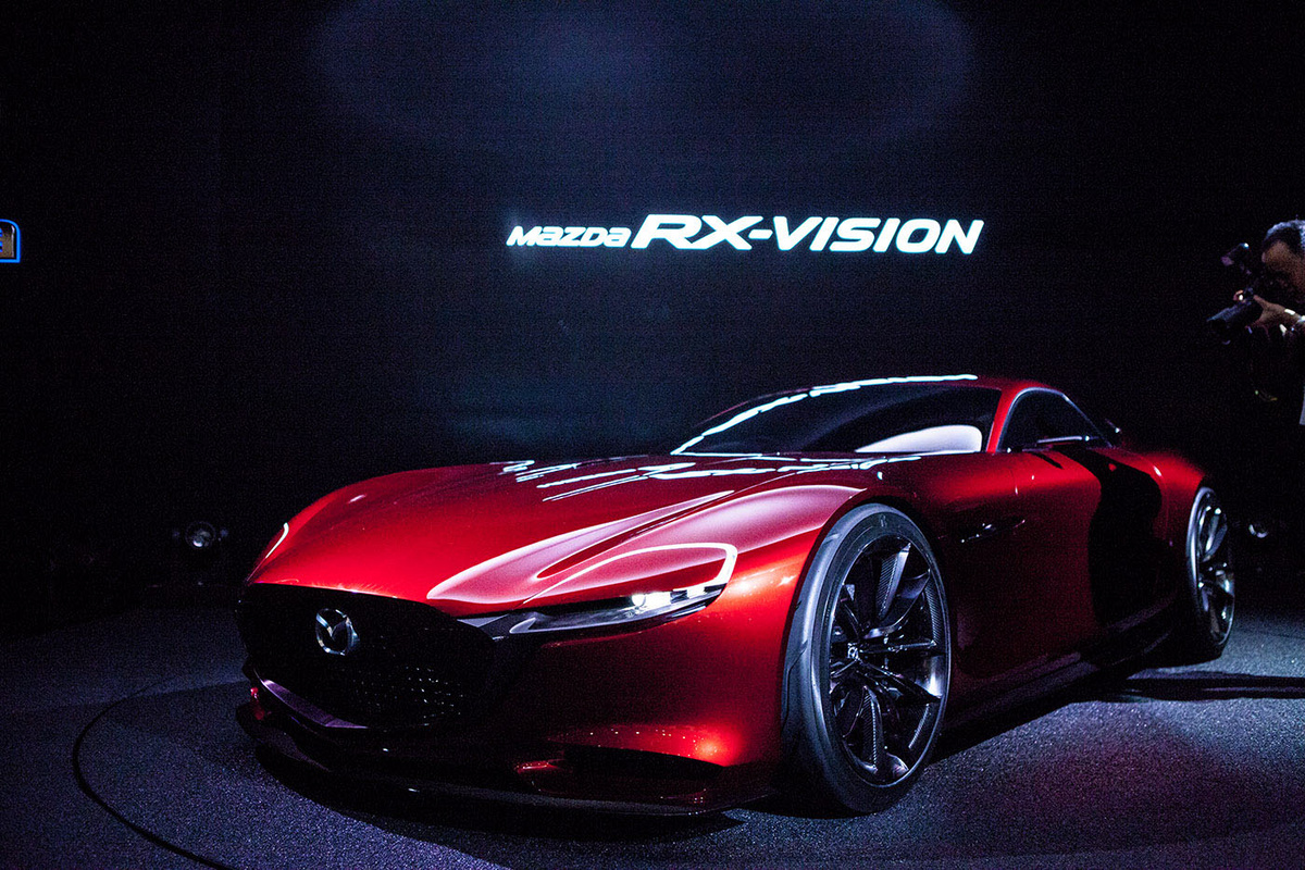 Mazda RX Vision Rotary Concept Introduced In Tokyo Motor