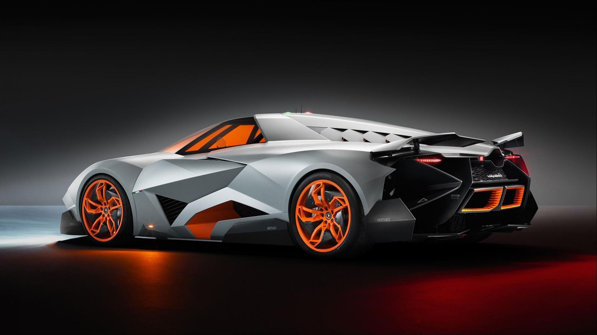 Lamborghini Egoista Sinister Car That Really Selfish