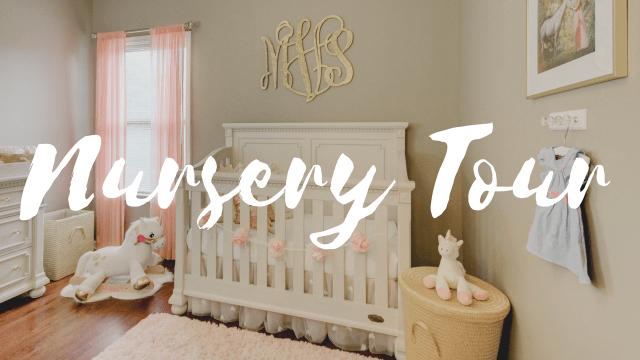 Baby Girl Nursery Tour