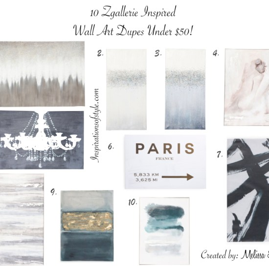 Zgallerie Wall Art Dupe