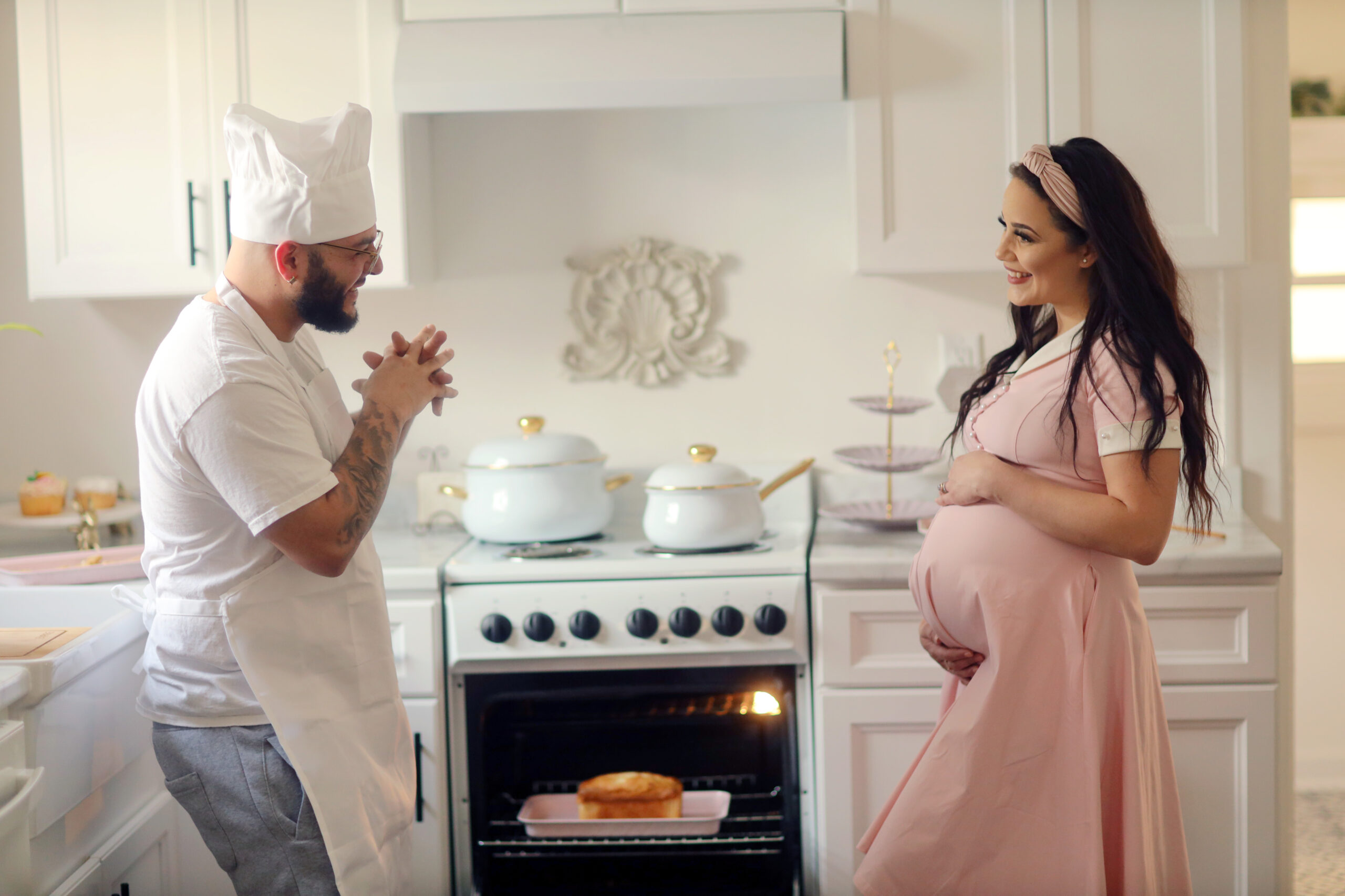 Bun in the Oven Baby Announcement