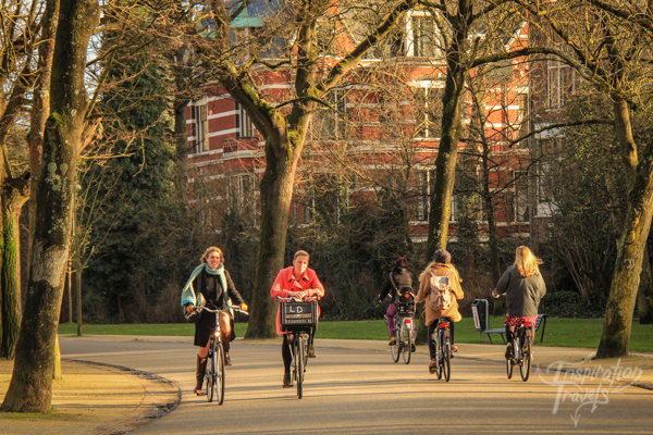 Cycling Vondel park - Amsterdam cycling tips