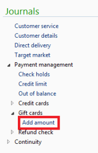 add amount gift card