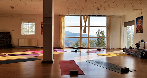 3 week, 200 hour intensive yoga teacher training course Spain
