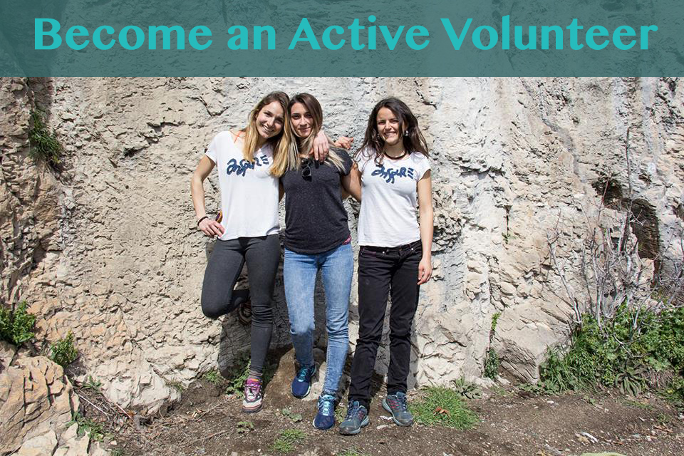 become an active volunteer inspire