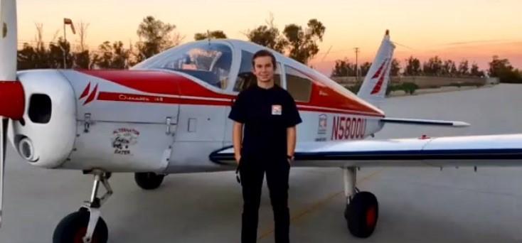 Nolan Hart – Private Pilot Milestone