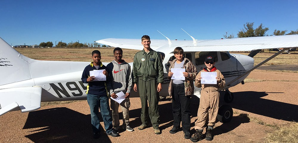 Young Eagles Helped Airman Get His Wings