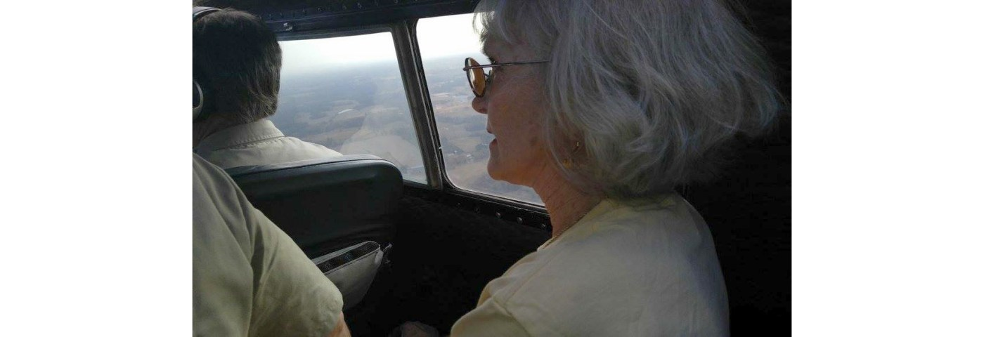 The Stories of Those Flying EAA's B-17 Aluminum Overcast – Linda Morgan