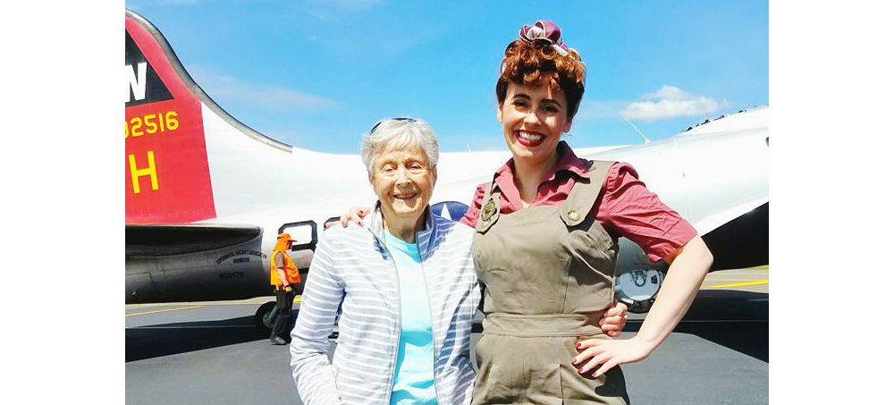 The Stories of Those Flying EAA's B-17 Aluminum Overcast – Betty Lausch