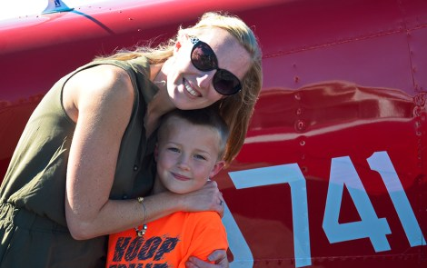 EAA Chapter Helps a Young Eagle Achieve Her Dream