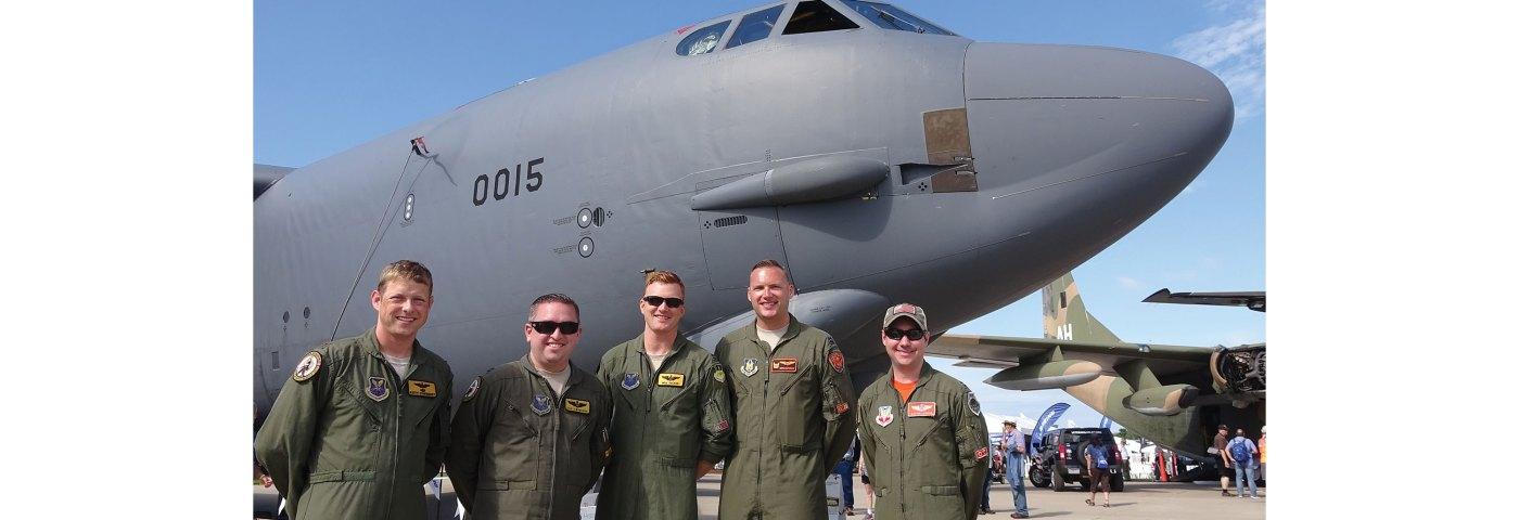 B-52 Crew Has GA Ties