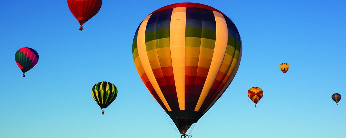 Tank Rider Hot Air Balloon Tethered in Oshkosh