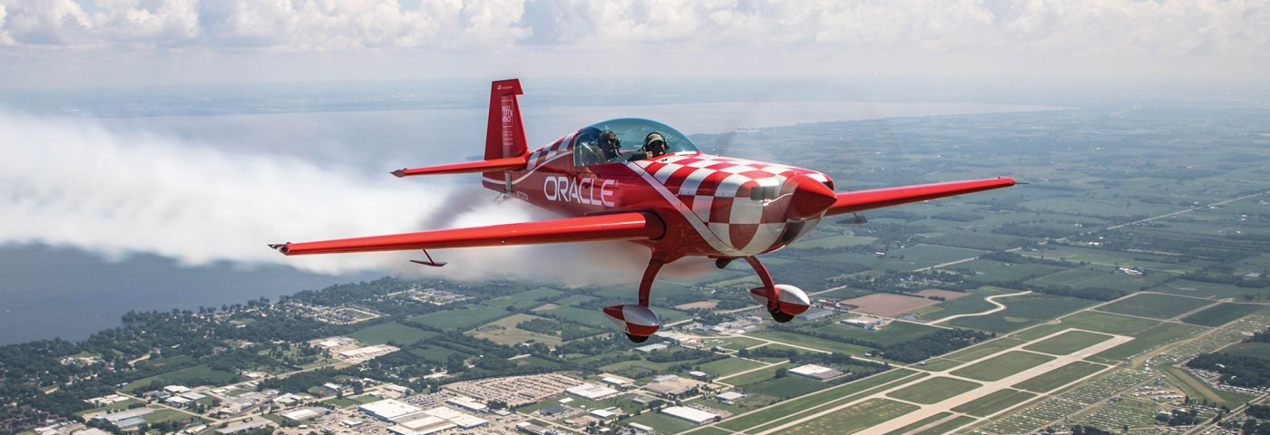 Annual Young Eagles Pilot Gets Ride With Sean D. Tucker