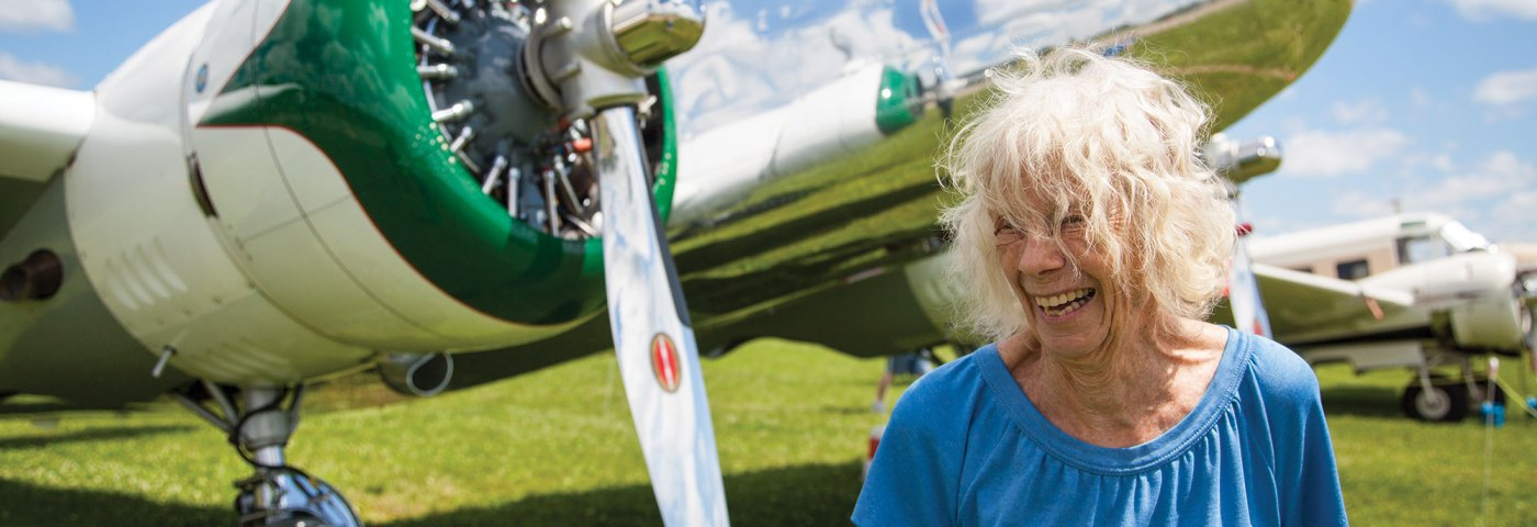 50th Anniversary of Ann Pellegreno's Earhart Flight