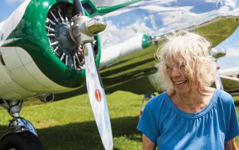 50th Anniversary of Ann Pellegreno's Earhart Flight