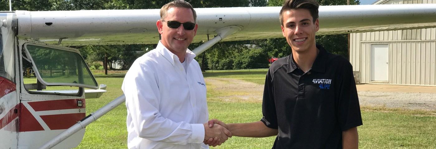 Peter Rodopoulos – Private Pilot Milestone