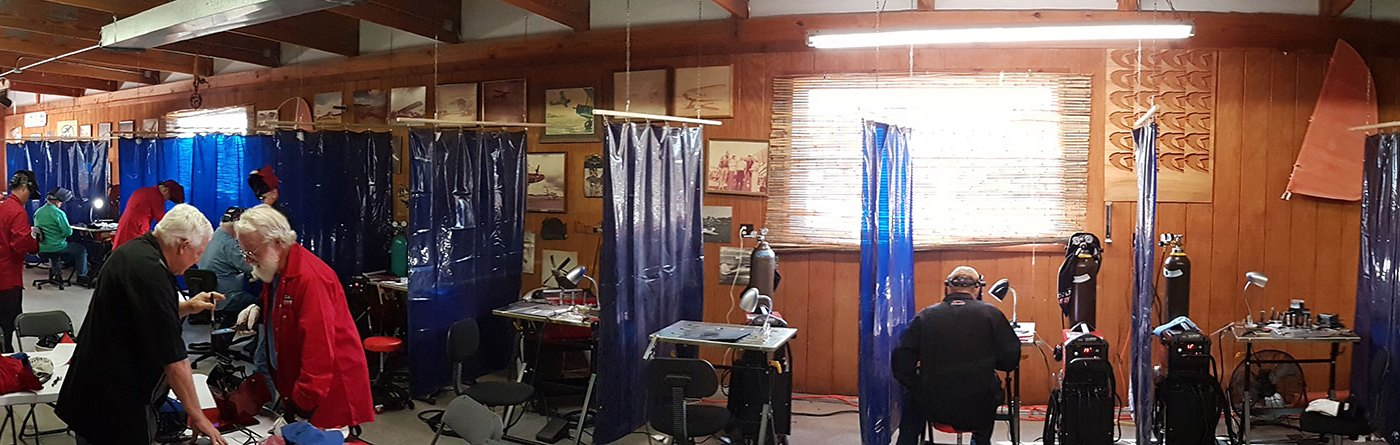 The Inaugural Oshkosh TIG Welding Class