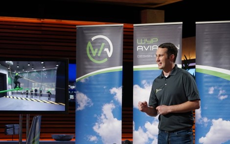 Former Young Eagle Appears on Shark Tank
