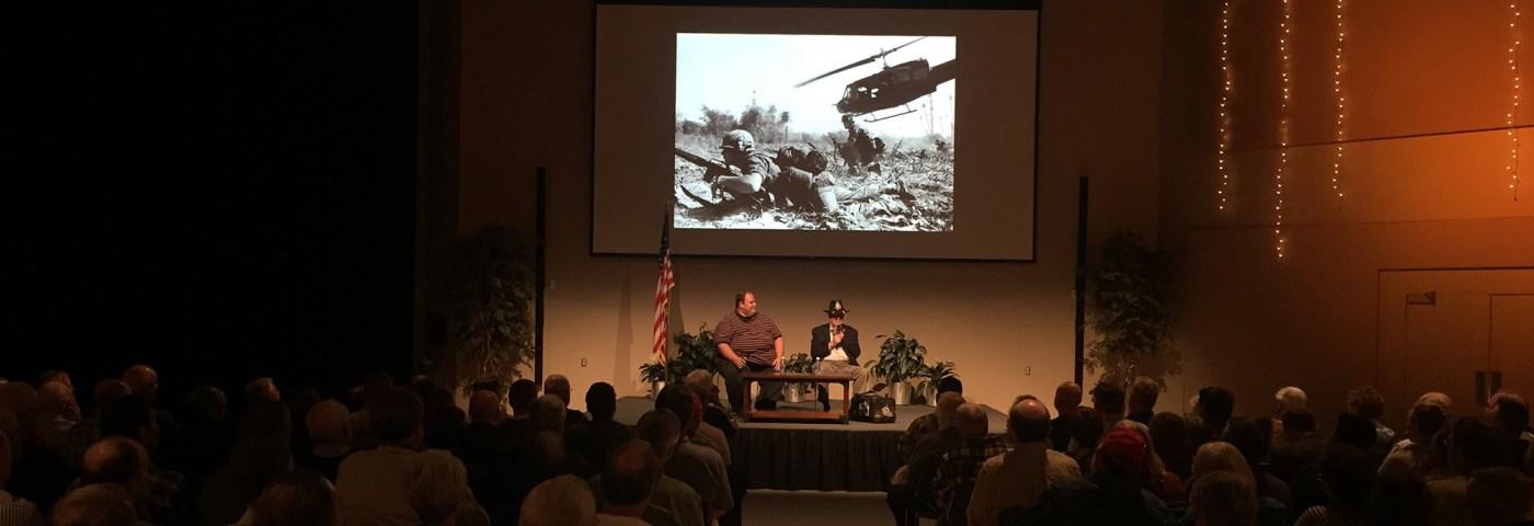 Medal of Honor Recipient Bruce Crandall Featured in Museum Speaker Series