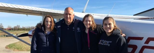 EAA Member Flies 1,000 Young Eagles in Minnesota