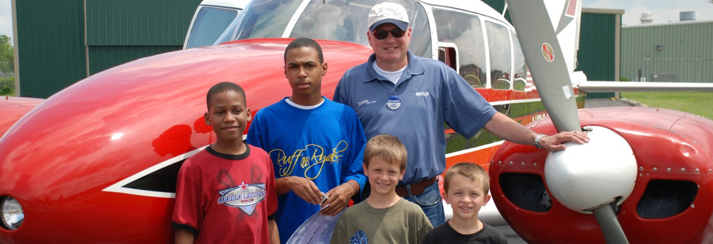 Sporty's CEO Flies 200th Young Eagle