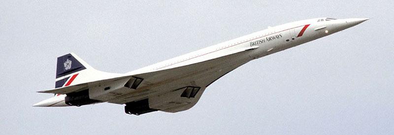 Last Place Won Concorde Flight for Air Academy Grad