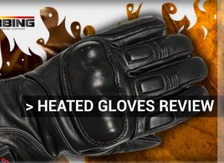 Gerbing heated motorcycle gloves