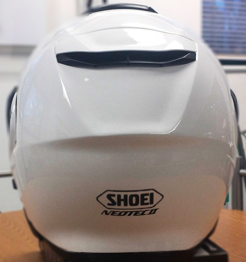 Shoei Neotec II Back View