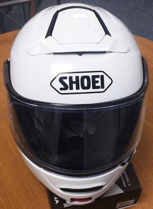 Shoei Neotec II Front View
