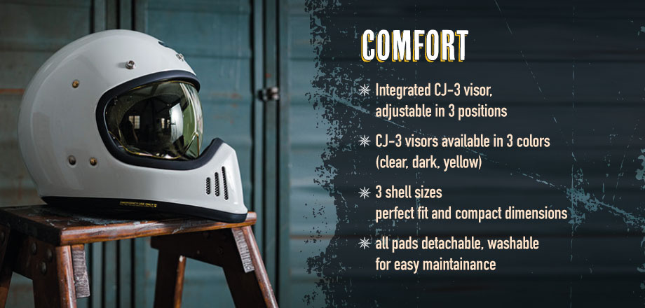 Shoei ExZero Comfort Out-Of-The-Box