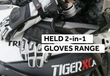 Held Air n Dry | Held 2 in 1 gloves