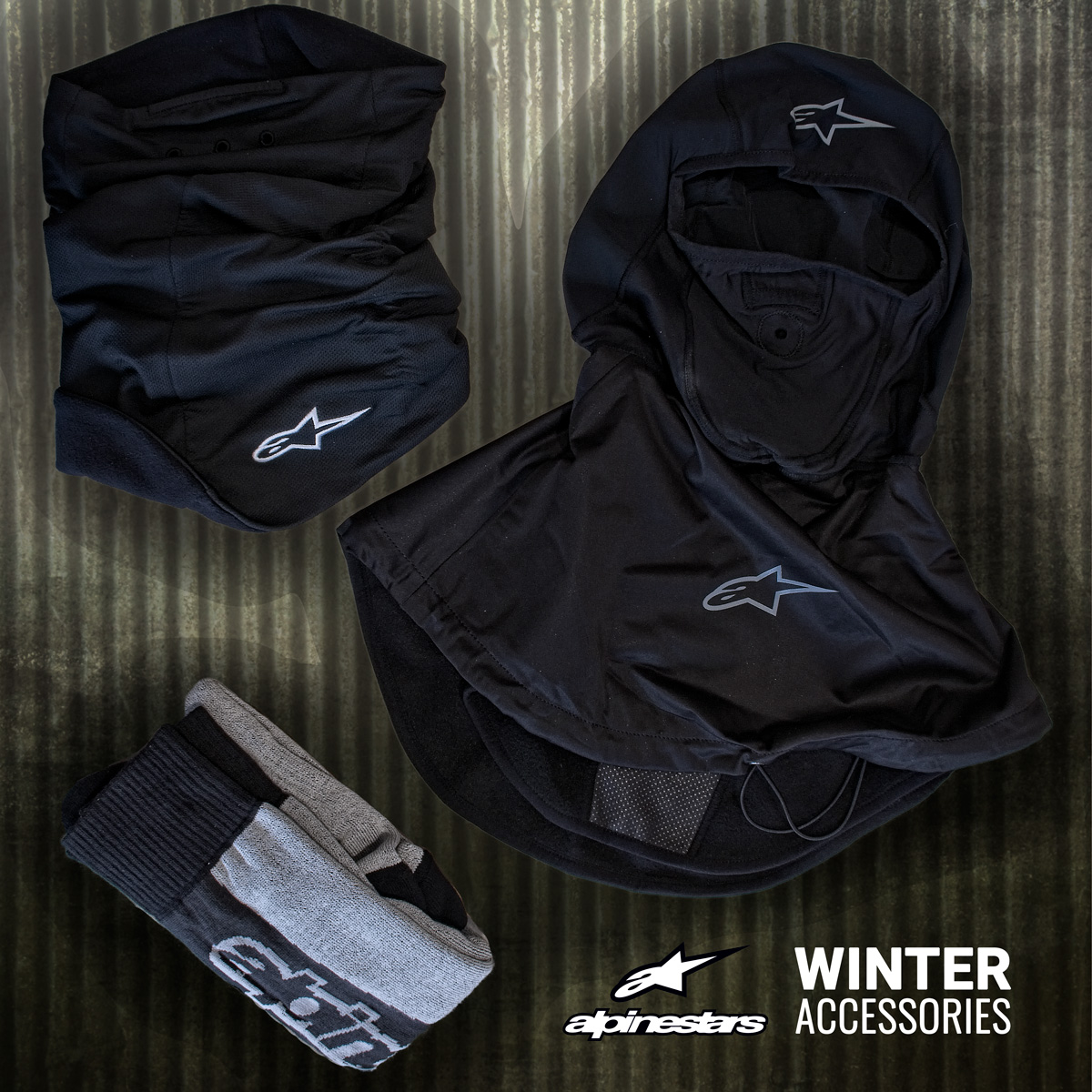 Winter Motorcycle Clothing Accessories Alpinestars