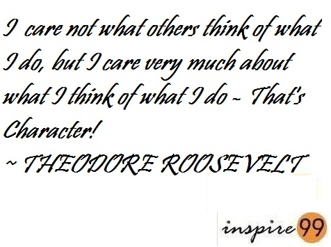 Stop Worrying About What Others Think Inspire 99