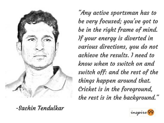 10 Stunning Sachin Tendulkar Motivational Quotes Inspire 99