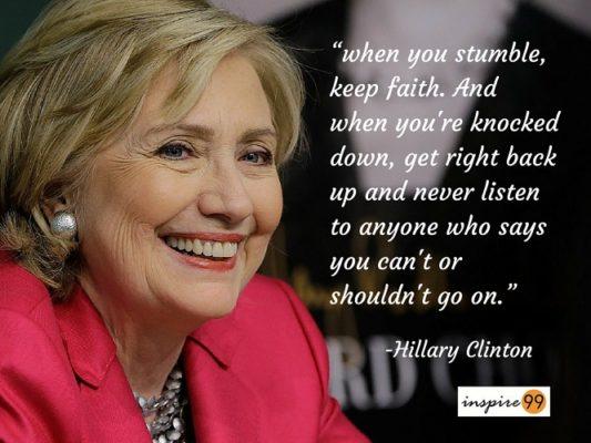 Hillary Clinton Quote 15 Inspiring Quoteshillary Clinton  Hillary Clinton Quotes