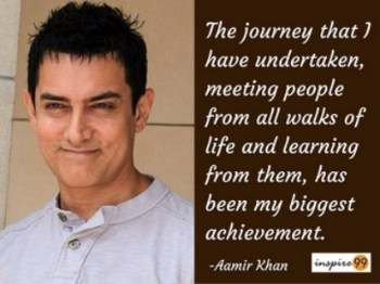 My biggest Achievement - Aamir Khan Quotes