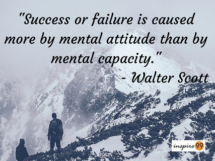 success or failure quote, success and mental attitude quote, success and capacity quote, success and failure quote,