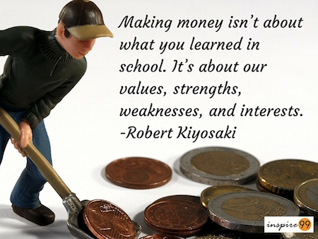 making money quote, quote on money, quote analysis money making in life, money and richness quote inspire99