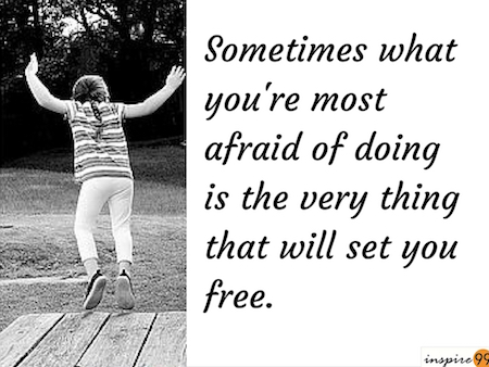 inspirational quote, quote on fear, inspire99 quotes, motivational quote on fear, inspirational quote fear