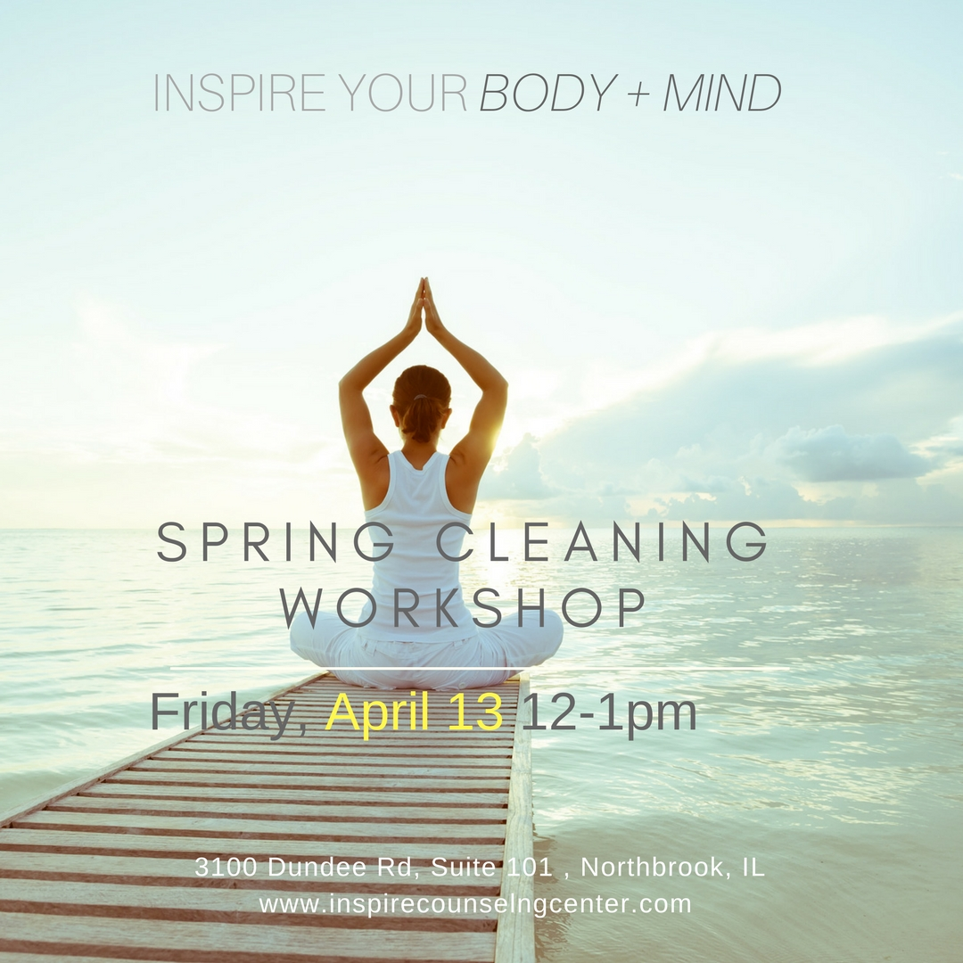 Spring Cleaning  |  mind & body