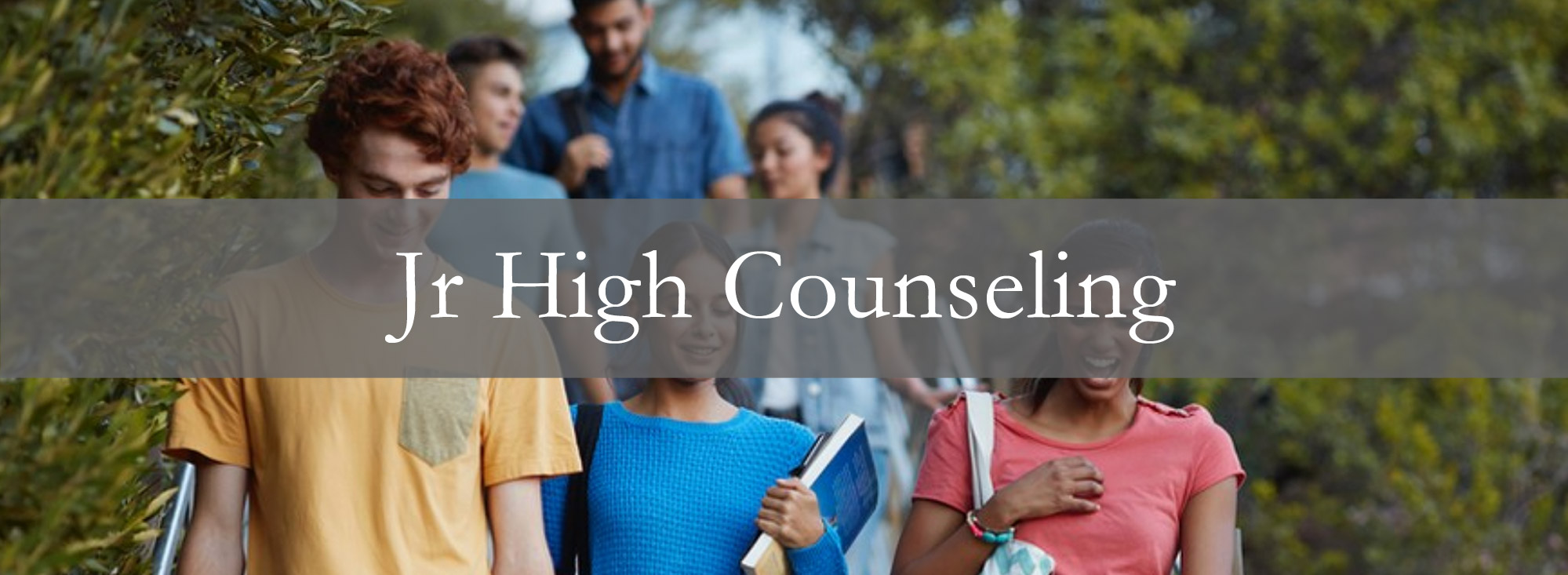 Jr. High Counseling