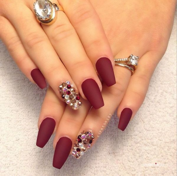 Bling Nail , Cute Coffin Nails