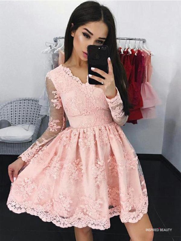Baby Pink Dinner Dress